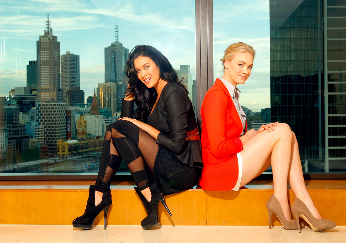 Nicole-Cleary-Photography-Megan-Gale-Yvonne-Strahovski-I-love-You-Too